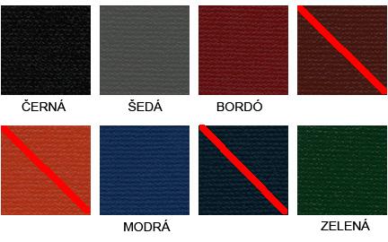 Vzorník barev desek